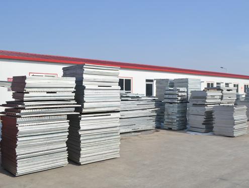 镀锌钢格板的安装固定方法