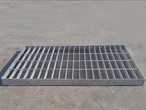 钢格栅板的安装